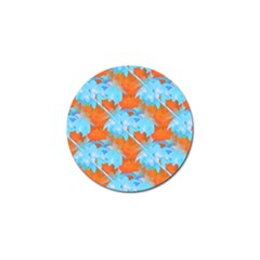 Coconut Palm Trees Tropical Dawn Golf Ball Marker (4 Pack)