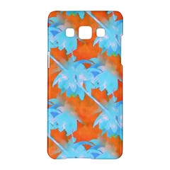 Coconut Palm Trees Tropical Dawn Samsung Galaxy A5 Hardshell Case  by CrypticFragmentsColors