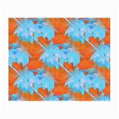 Coconut Palm Trees Tropical Dawn Small Glasses Cloth (2 Side)