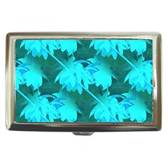 Coconut Palm Trees Caribbean Sea Cigarette Money Cases
