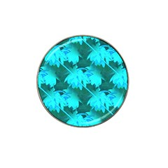 Coconut Palm Trees Caribbean Sea Hat Clip Ball Marker