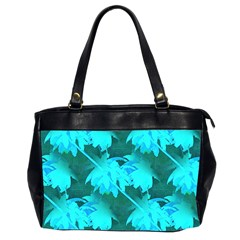 Coconut Palm Trees Caribbean Sea Office Handbags (2 Sides)  by CrypticFragmentsColors