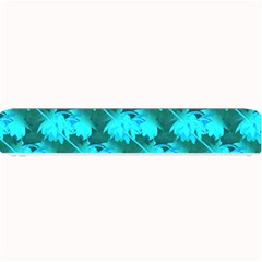 Coconut Palm Trees Blue Green Sea Small Print Small Bar Mats