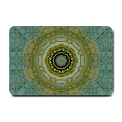 Modern Fantasy Rococo Flower And Lilies Small Doormat