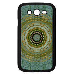 Modern Fantasy Rococo Flower And Lilies Samsung Galaxy Grand Duos I9082 Case (black) by pepitasart
