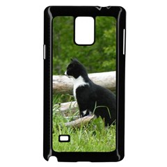 Farm Cat Samsung Galaxy Note 4 Case (black)