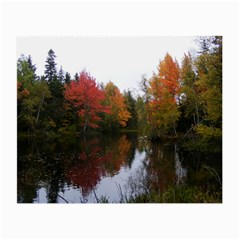 Autumn Pond Small Glasses Cloth (2 Side)