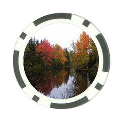 Autumn Pond Poker Chip Card Guard (10 Pack) by IIPhotographyAndDesigns