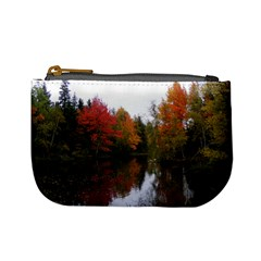 Autumn Pond Mini Coin Purses by IIPhotographyAndDesigns