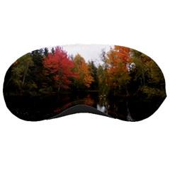 Autumn Pond Sleeping Masks