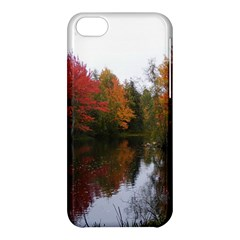 Autumn Pond Apple Iphone 5c Hardshell Case by IIPhotographyAndDesigns