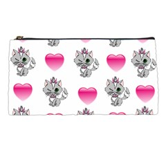 Evil Sweetheart Kitty Pencil Cases by IIPhotographyAndDesigns