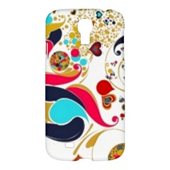 Retro Colorful Colors Splashes Samsung Galaxy S4 I9500/i9505 Hardshell Case by flipstylezdes