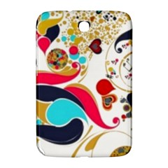 Retro Colorful Colors Splashes Samsung Galaxy Note 8 0 N5100 Hardshell Case  by flipstylezdes