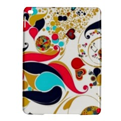Retro Colorful Colors Splashes Ipad Air 2 Hardshell Cases