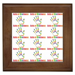 Acts Of Kindness Framed Tiles