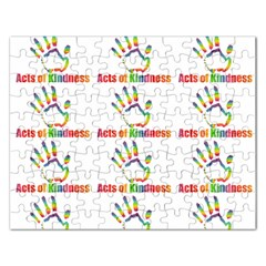 Acts Of Kindness Rectangular Jigsaw Puzzl