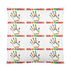 Acts Of Kindness Standard Cushion Case (one Side)