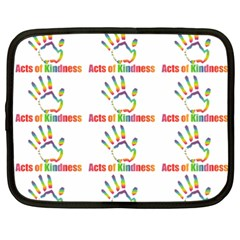 Acts Of Kindness Netbook Case (xxl)