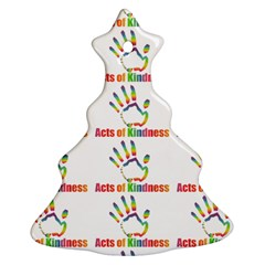 Acts Of Kindness Ornament (christmas Tree)