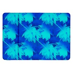 Coconut Palm Trees Ocean Blue Samsung Galaxy Tab 8 9  P7300 Flip Case by CrypticFragmentsColors