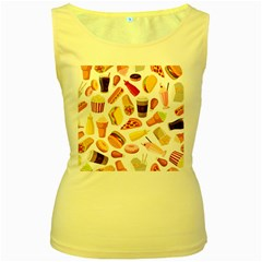 53356631 L Women s Yellow Tank Top