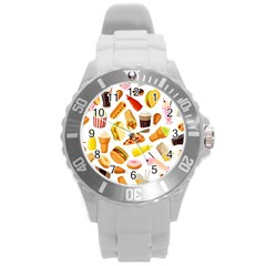 53356631 L Round Plastic Sport Watch (l) by caloriefreedresses