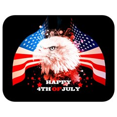 Independence Day, Eagle With Usa Flag Full Print Lunch Bag by FantasyWorld7