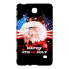 Independence Day, Eagle With Usa Flag Samsung Galaxy Tab 4 (7 ) Hardshell Case