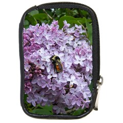 Lilac Bumble Bee Compact Camera Cases by IIPhotographyAndDesigns