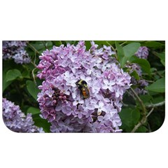 Lilac Bumble Bee Lunch Bag by IIPhotographyAndDesigns