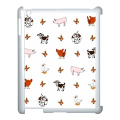 Farm Animals Apple Ipad 3/4 Case (white) by IIPhotographyAndDesigns