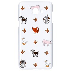 Farm Animals Samsung C9 Pro Hardshell Case