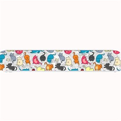 Funny Cute Colorful Cats Pattern Small Bar Mats