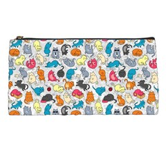 Funny Cute Colorful Cats Pattern Pencil Cases