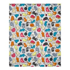 Funny Cute Colorful Cats Pattern Shower Curtain 60  X 72  (medium)
