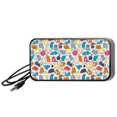 Funny Cute Colorful Cats Pattern Portable Speaker