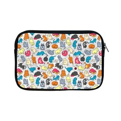 Funny Cute Colorful Cats Pattern Apple Ipad Mini Zipper Cases