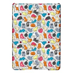 Funny Cute Colorful Cats Pattern Ipad Air Hardshell Cases