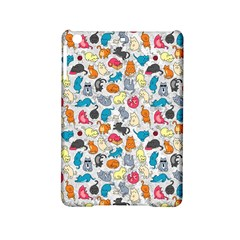 Funny Cute Colorful Cats Pattern Ipad Mini 2 Hardshell Cases
