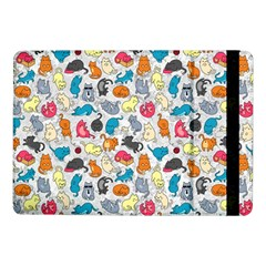 Funny Cute Colorful Cats Pattern Samsung Galaxy Tab Pro 10 1  Flip Case