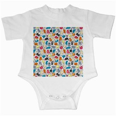 Funny Cute Colorful Cats Pattern Infant Creepers