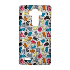 Funny Cute Colorful Cats Pattern Lg