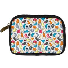 Funny Cute Colorful Cats Pattern Digital Camera Cases