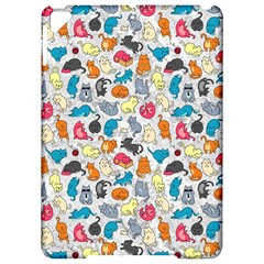 Funny Cute Colorful Cats Pattern Apple Ipad Pro 9 7   Hardshell Case