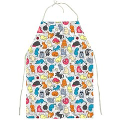 Funny Cute Colorful Cats Pattern Full Print Aprons