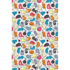 Funny Cute Colorful Cats Pattern 5 5  X 8 5  Notebooks
