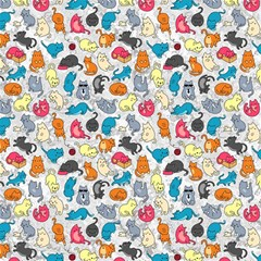 Funny Cute Colorful Cats Pattern Magic Photo Cube