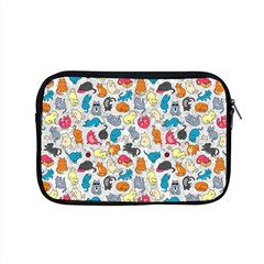Funny Cute Colorful Cats Pattern Apple Macbook Pro 15  Zipper Case