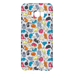 Funny Cute Colorful Cats Pattern Samsung Galaxy S8 Plus Hardshell Case
